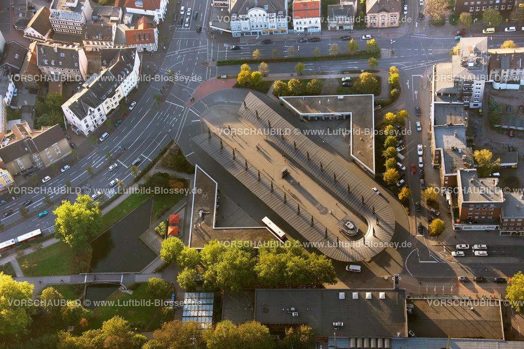 RE11101582 | Busbahnhof am Hauptbahnhof Recklinghausen,  Recklinghausen, Ruhrgebiet, Nordrhein-Westfalen, Deutschland, Europa