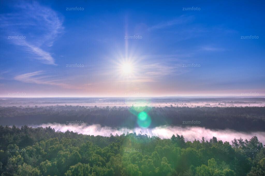 0-110602_0448-5147-72 | Blick vom Käflingsturm über den großen Zillmannsee im Müritz Nationalpark. --Dateigröße 3849 x 2566 Pixel--