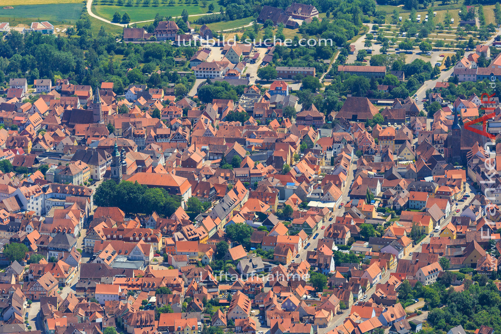 altstadt-bad-windsheim-2015-1393 | Luftbild von Altstadt Bad-windsheim - Luftaufnahme wurde 2015 von https://frankenair.de mittels Flugzeug (keine Drohne) erstellt - die Geschenkidee