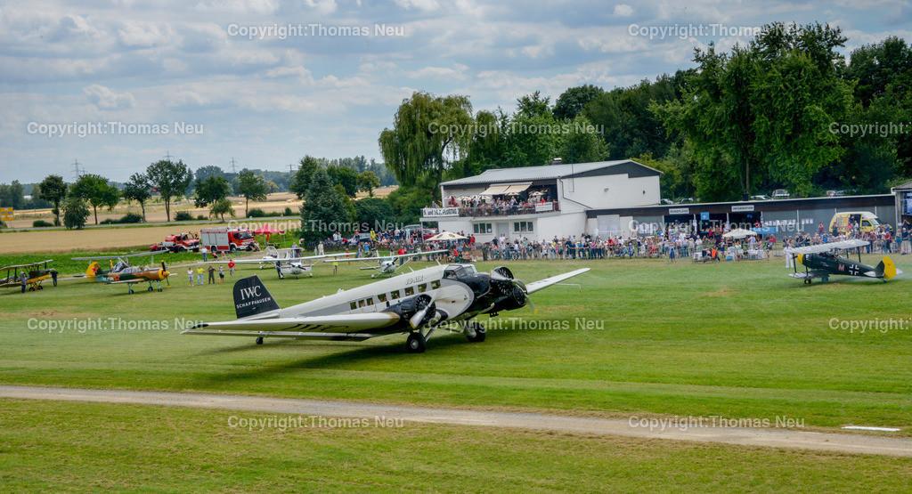 DSC_3844 | Bensheim,Flugtag, Bensheimer Segelflieger wieder war die Ju 52 der Stargast, , Bild. Thomas Neu
