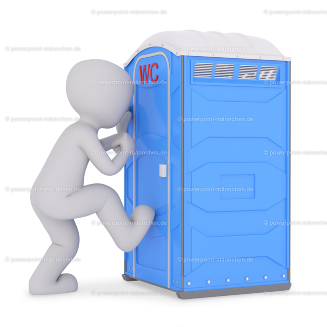 urgently need to use the public toilet | Quelle: https://3dman.eu   Jetzt 250 Bilder kostenlos sichern