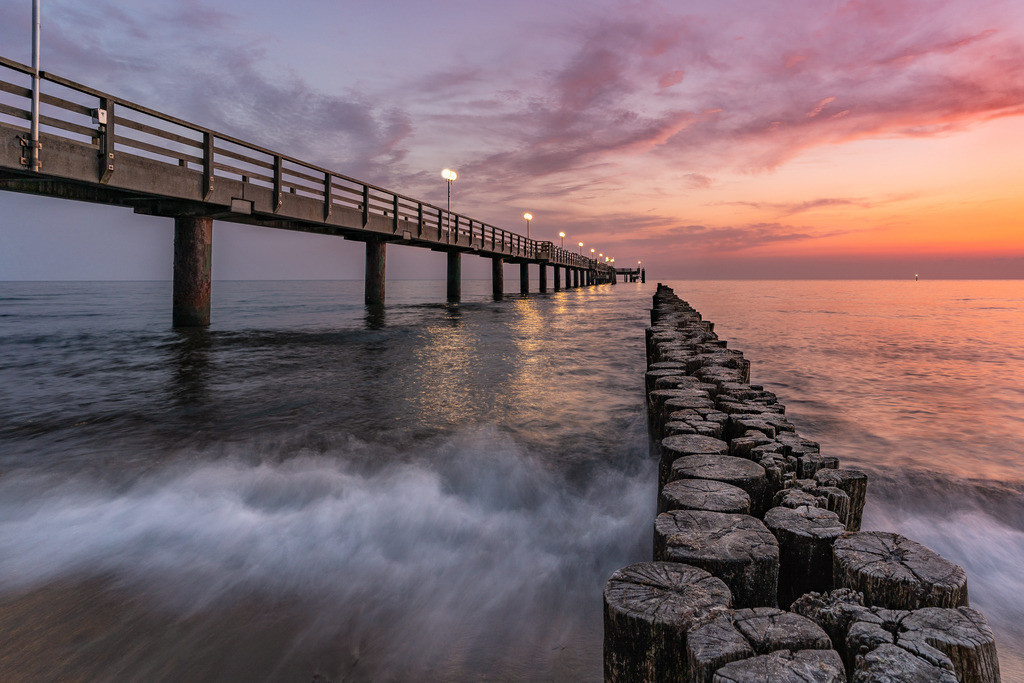 Sunrise an der Seebrücke 3