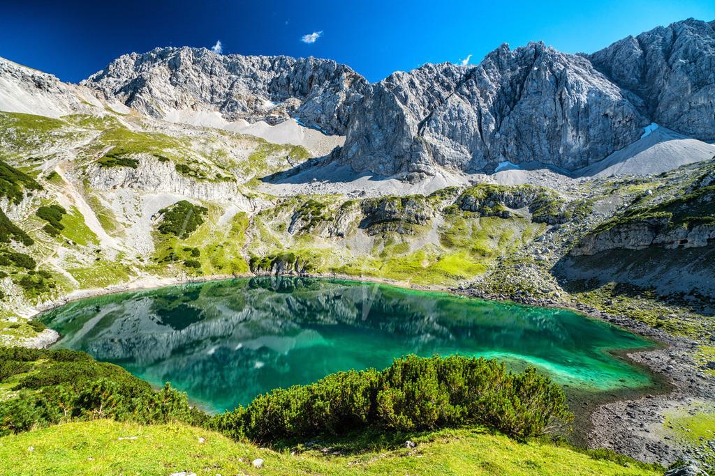 Drachensee | Der Drachensee in den Mieminger Bergen