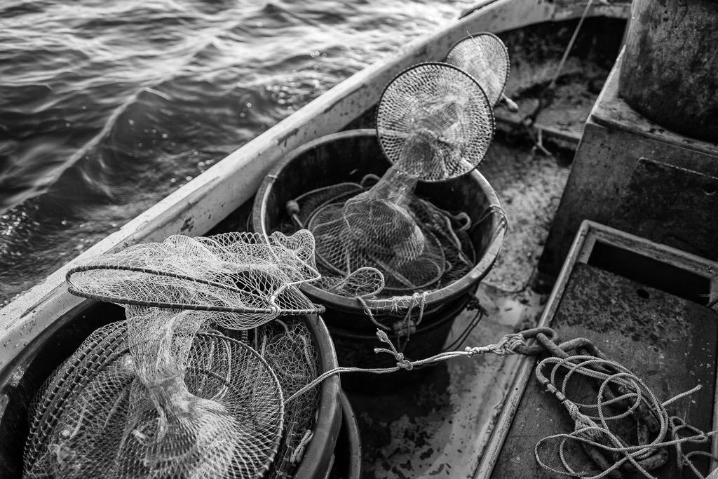 Matthias Nanz – ein Fischer an der Schlei © Holger Rüdel | Mit seinem Boot