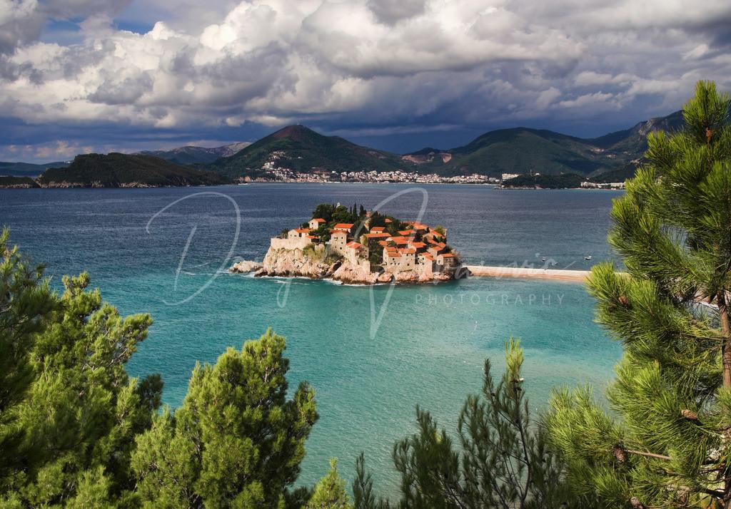 Sveti Stefan | Die wunderschöne Insel Sveti Stefan
