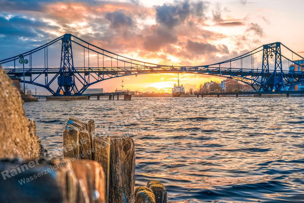 20210327-Wilhelmshaven KW Brücke Sonnenuntergang 27 März 2021 _1 Kopie