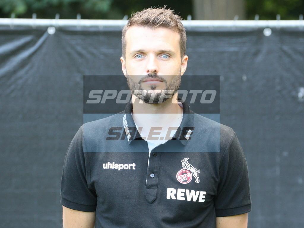 1. FC Köln Fotoshooting   Leif Frach - © Sportfoto-Sale (MK)