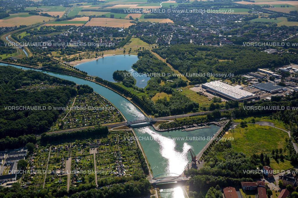 Luenen15071870 | Seepark Lünen mit Kanal und Preußenhafen, Datteln-Hamm-Kanal, Lünen, Ruhrgebiet, Nordrhein-Westfalen, Deutschland