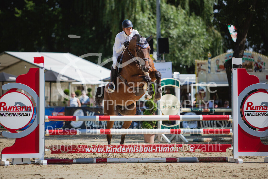 200819_Delbrück_Sprpf-A_2_1-266 | Delbrück Masters 2020 Springpferdeprüfung Kl. A** 4-6jährige Pferde