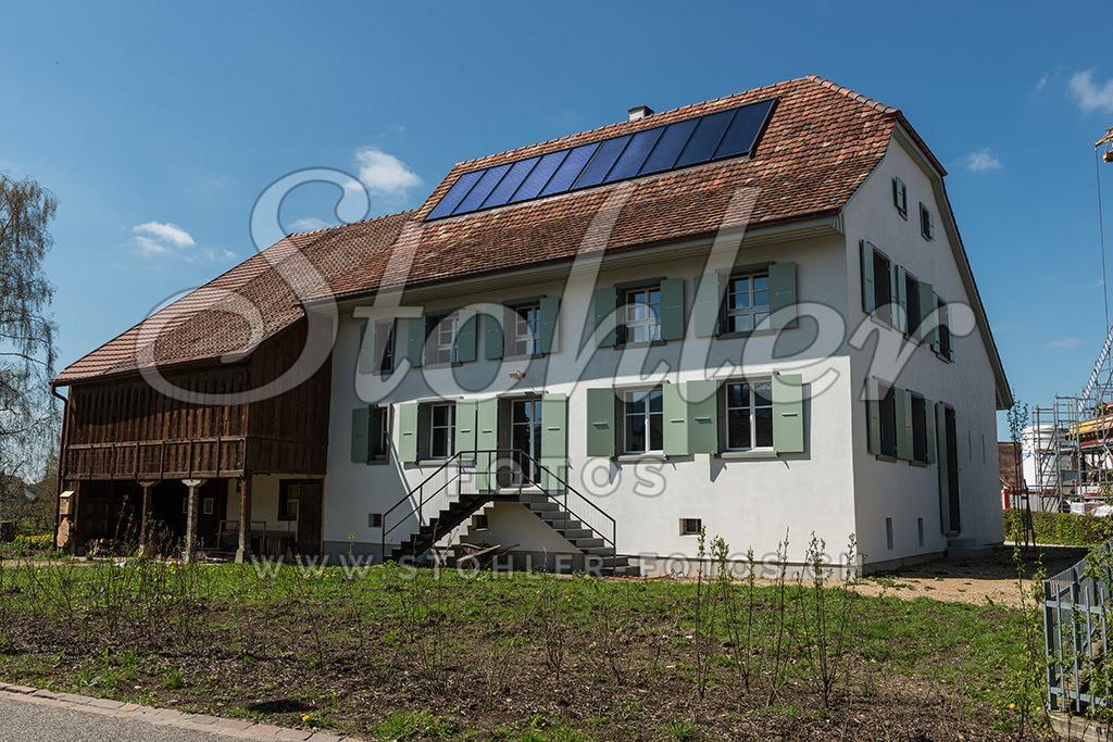 Bauernhaus, Rünenberg (BL) | Ehemalige Bauernhaus modern umgebaut, Rünenberg im Kanton Baselland.