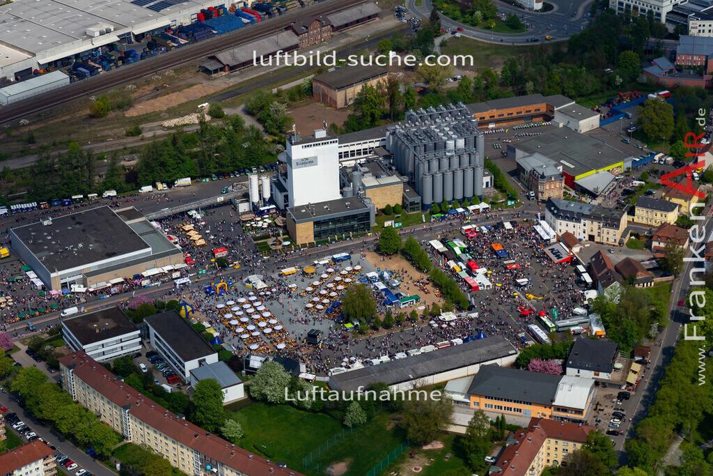 kulmbach-18-78 | aktuelles Luftbild von  Kulmbach - Luftaufnahme wurde 2018 von https://frankenair.de mittels Flugzeug (keine Drohne) erstellt.