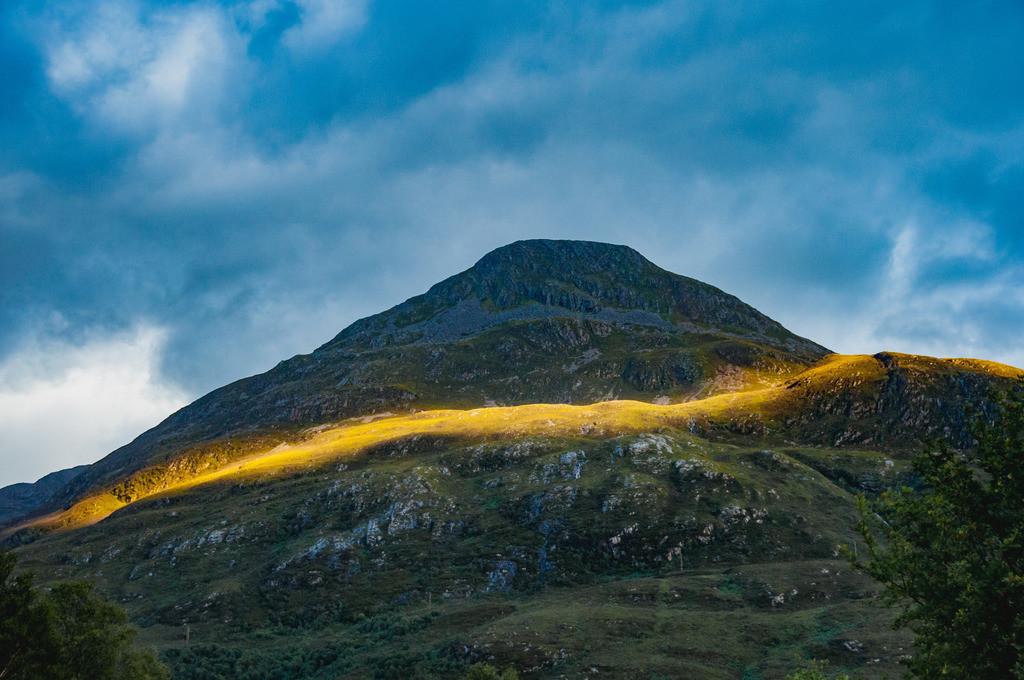 Highlands, Schottland | Glencoe (Gleann Comhann), Glen Coe, Loch Leven, Highlands, Schottland