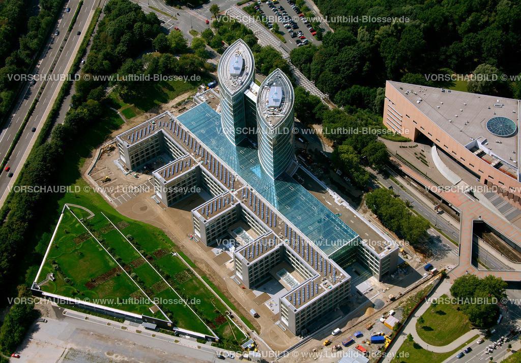 ES10080296 | EON Ruhrgas neue Konzernzentrale,  Essen, Ruhrgebiet, Nordrhein-Westfalen, Germany, Europa, Foto: hans@blossey.eu, 14.08.2010