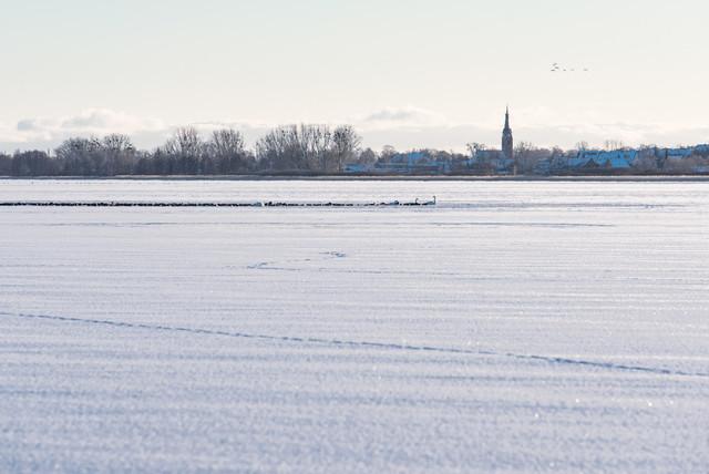Winter in Prenzlau   Ansicht aus Prenzlau