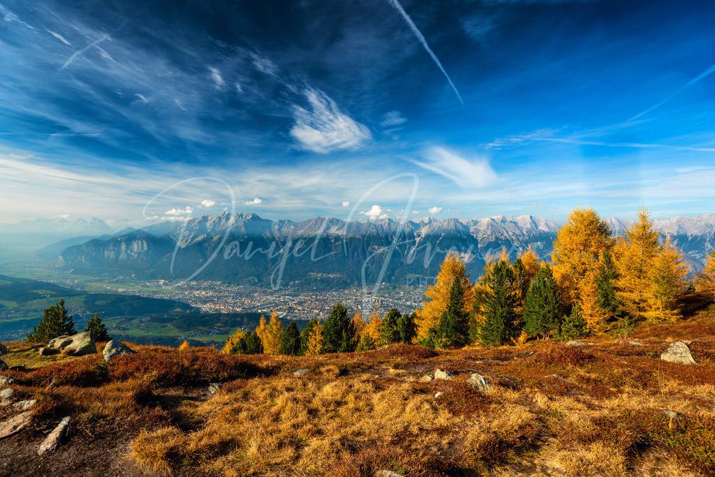 Innsbruck | Herbstlicher Blick auf Innsbruck