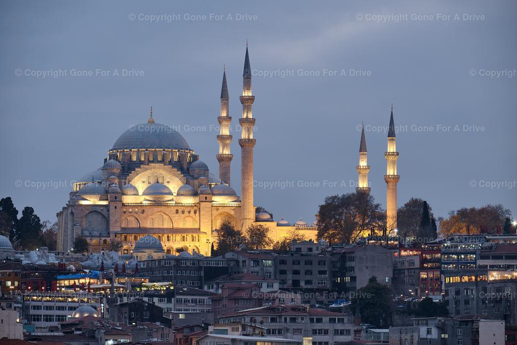 Türkei | Die Süleymaniye-Moschee in Istanbul