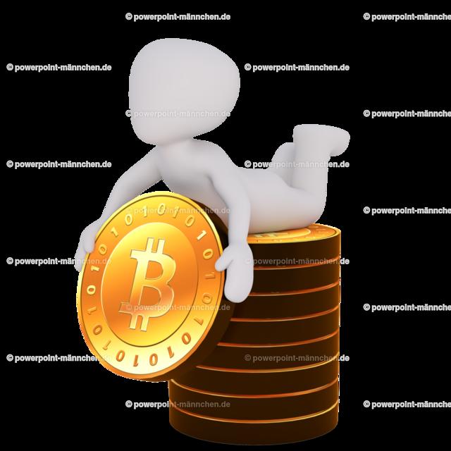 man with a pile of bitcoins | Quelle: https://3dman.eu   Jetzt 250 Bilder kostenlos sichern