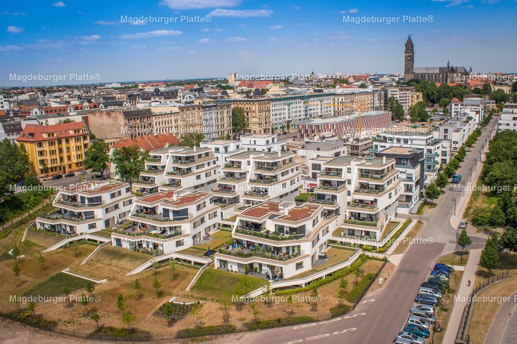 Luftbilder Magdeburg-2782 | Luftbilder aus der Vogelperspektive von MAGDEBURG ... mit Drohne oder von oben fotografiert für die Bilddatenbank der Luftbildfotografie von Sachsen - Anhalt.
