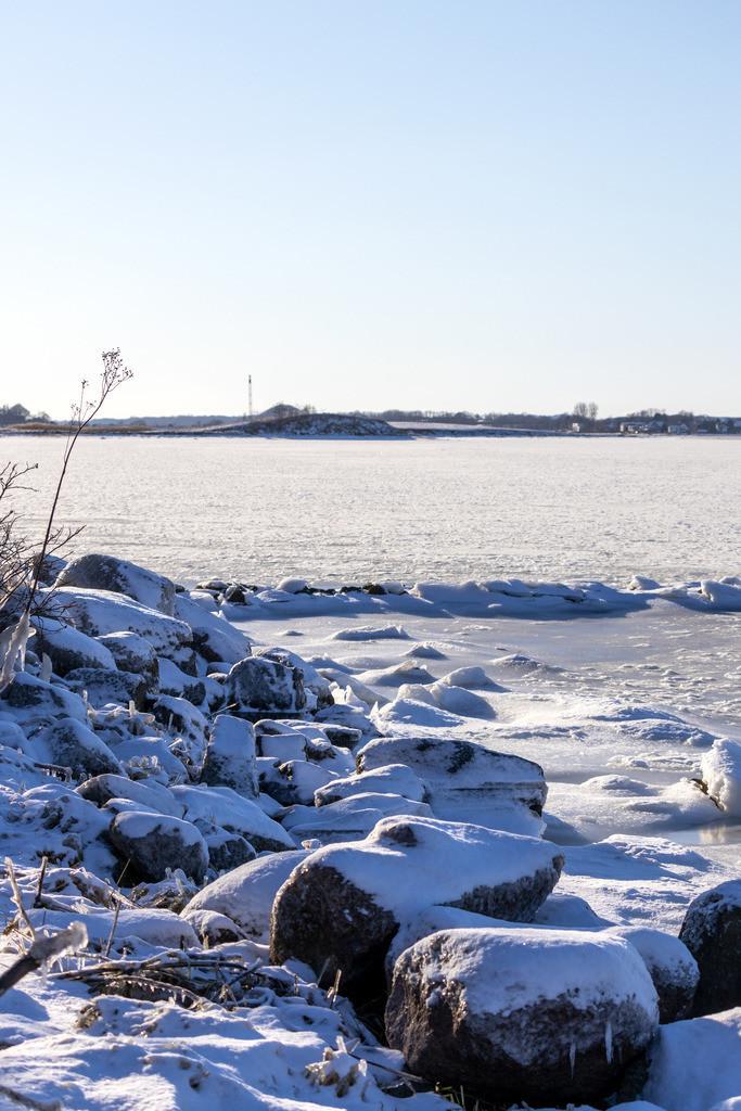 Sieseby an der Schlei | Schnee und Eis in Sieseby an der Schlei