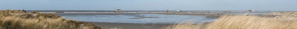 _DSC7381 Panorama | Die Weite des Strandes von St. Peter-Ording
