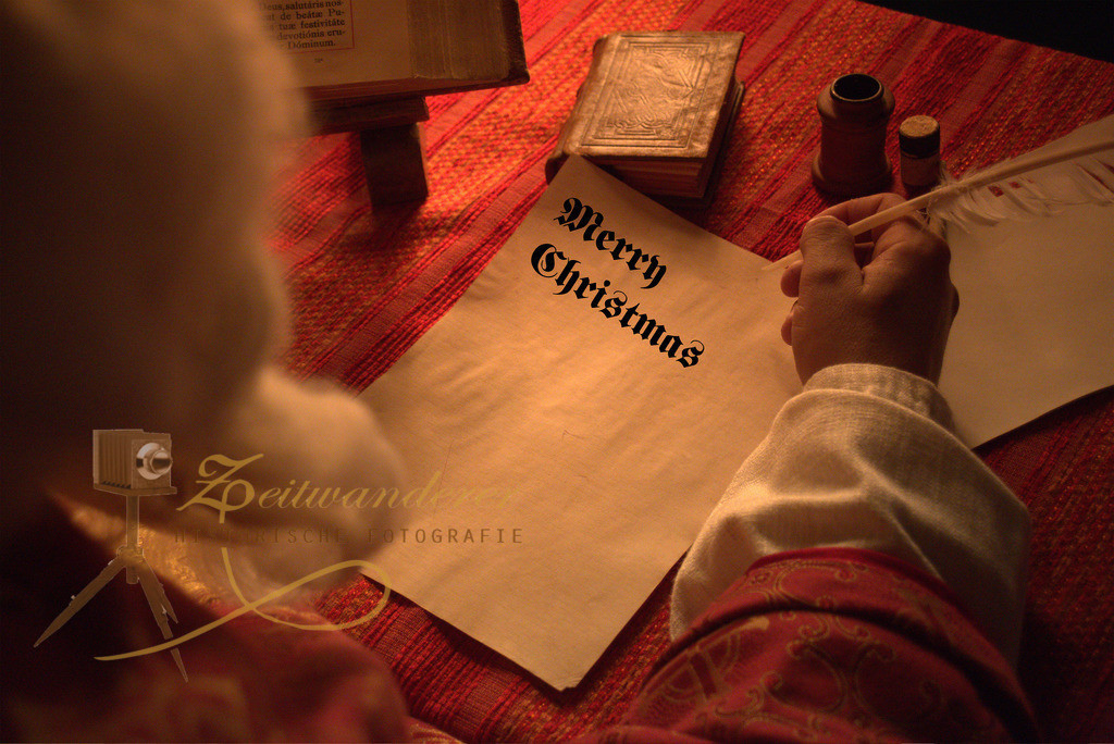 Weihnachtsmotiv 2 Merry Christmas