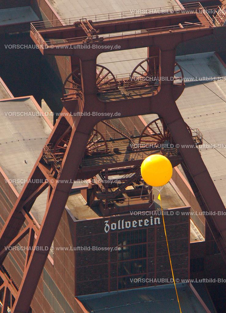 ES10056370 | Zollverein 12/6/8 Weltkulturerbe, Schachtzeichen ruhr2010,  Essen, Ruhrgebiet, Nordrhein-Westfalen, Deutschland, Europa, Foto: hans@blossey.eu, 22.05.2010