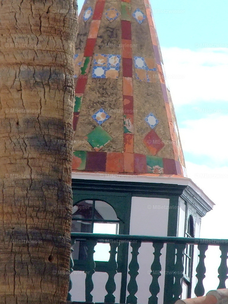 DSCF8906 | Bunter Turm in Santa Cruz de La Palma