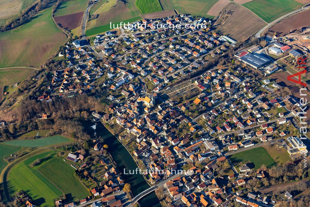 marktzeuln-19-36 | aktuelles Luftbild von  Marktzeuln - Luftaufnahme wurde 2019 von https://frankenair.de mittels Flugzeug (keine Drohne) erstellt.