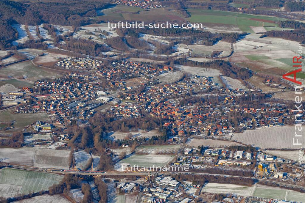 thurnau-19-151 | aktuelles Luftbild von  Thurnau - Luftaufnahme wurde 2019 von https://frankenair.de mittels Flugzeug (keine Drohne) erstellt.