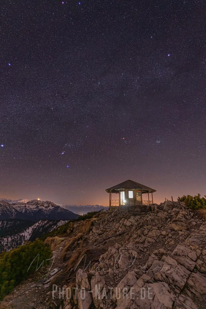 Eine Hütte unter den Sternen | Eine traumhafte Lage für einen königlichen Pavillion in den Bergen