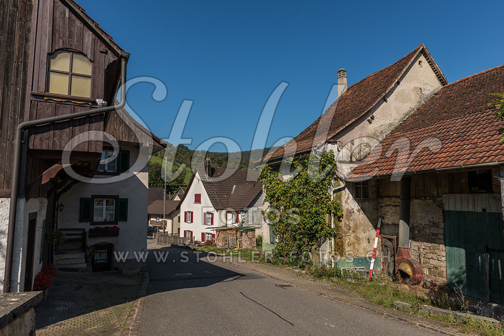 Dorf Bärschwil (SO) | Im Dorfzentrum von Bärschwil im Kanton Solothurn.