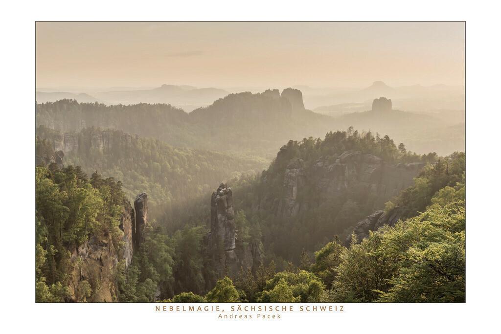 Nebelmagie, Sächsische Schweiz | Die Serie 'Deutschlands Landschaften' zeigt die schönsten und wildesten deutschen Landschaften.