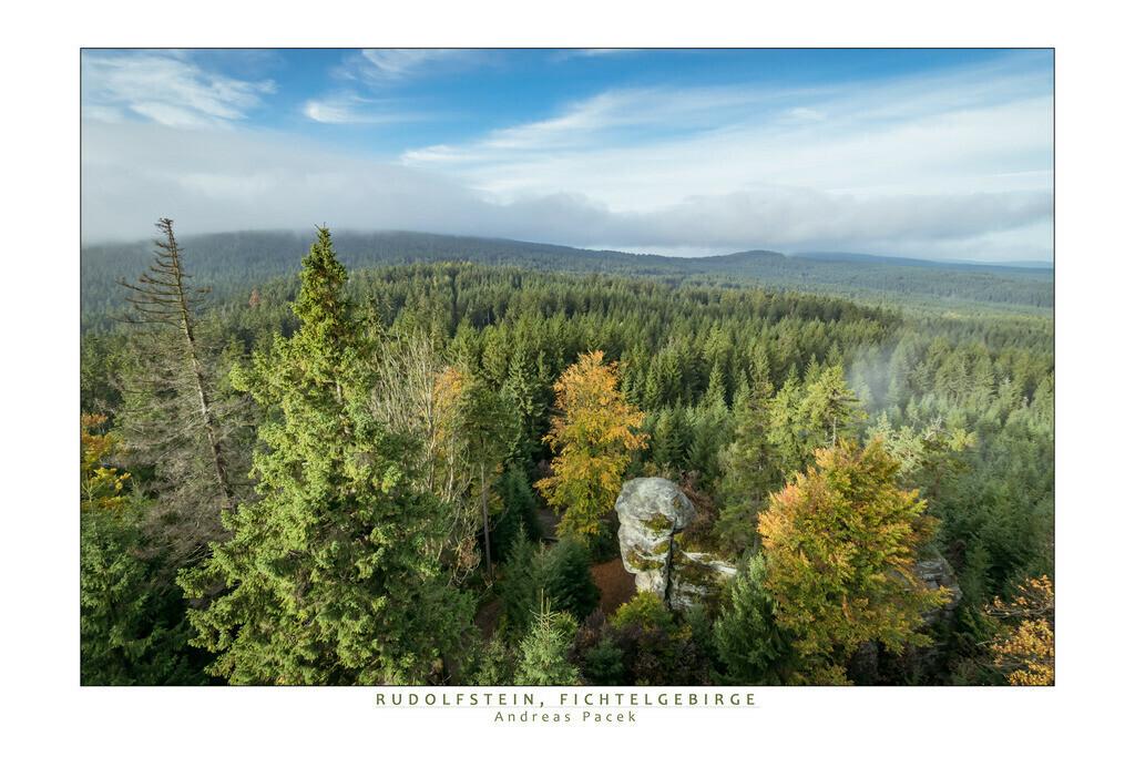 Rudolfstein, Fichtelgebirge | Die Serie 'Deutschlands Landschaften' zeigt die schönsten und wildesten deutschen Landschaften.