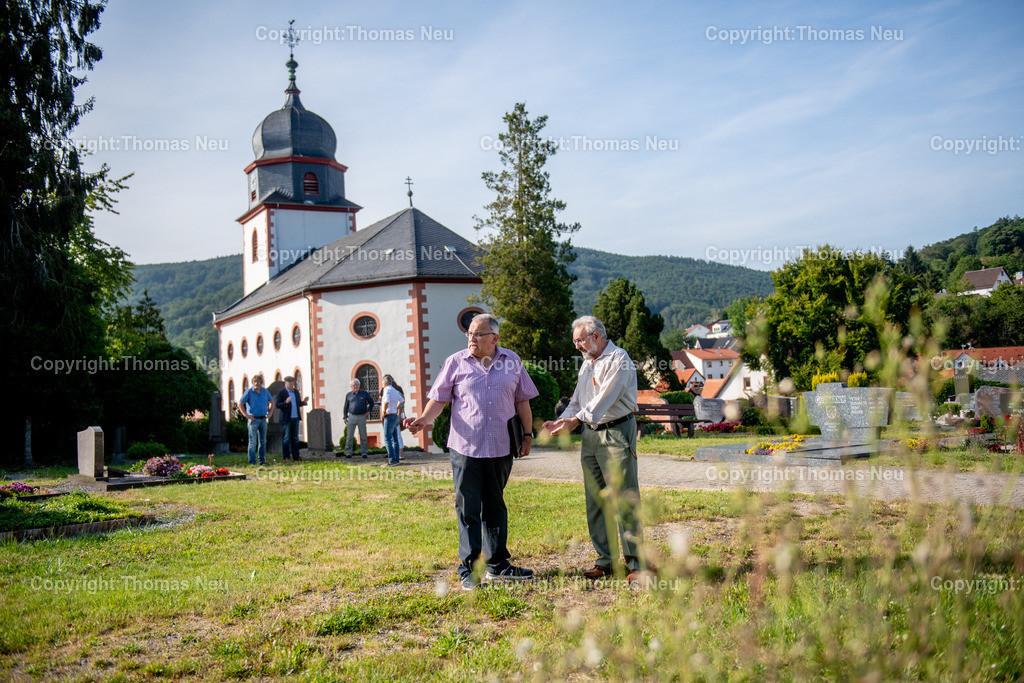 DSC_3197   Lautertal, Friedhof, Reichenbach, CDU Ortsbegehung, ,, Bild: Thomas Neu