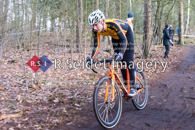 Radsport, Stevens Cyclocross Cup 2019, 10. Lauf (RSG Nordheide), Rennen 9 (Elite Herren + U23, Masters 2 / Elite Ü40 und Junioren U19), Buchholz i.d.N., 19.01.2020 | Christian Schuldt (Radsport Team Lübeck v. 1990 e.V., #161, Masters 2)