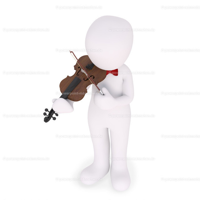 playing a fiddle