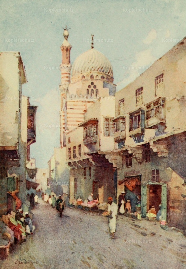 Cane_ Ella du (1874-1943) - Banks of the Nile 1913 - Darb-El-Gamamiz_ Cairo
