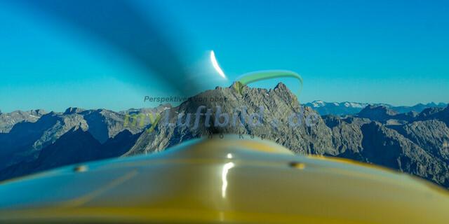 luftbild-watzmann-bruno-kapeller-04 | Luftaufnahme vom Watzmann 2713m