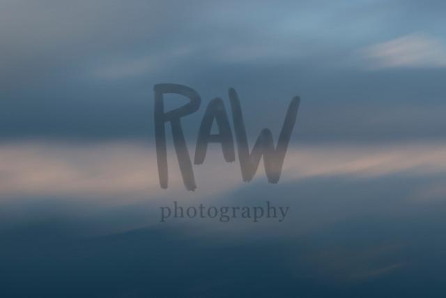 Struktur Himmel - letzte Lichtstrahlen