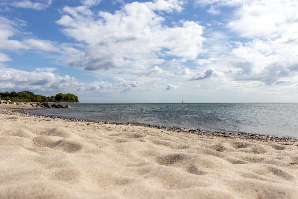 Strand in Langholz   Sandstrand in Langholz