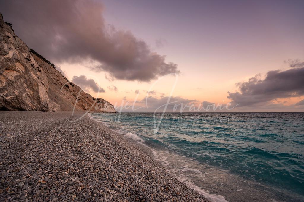 Morgenstimmung | Morgenstimmung am Lalaria Strand, Skiathos