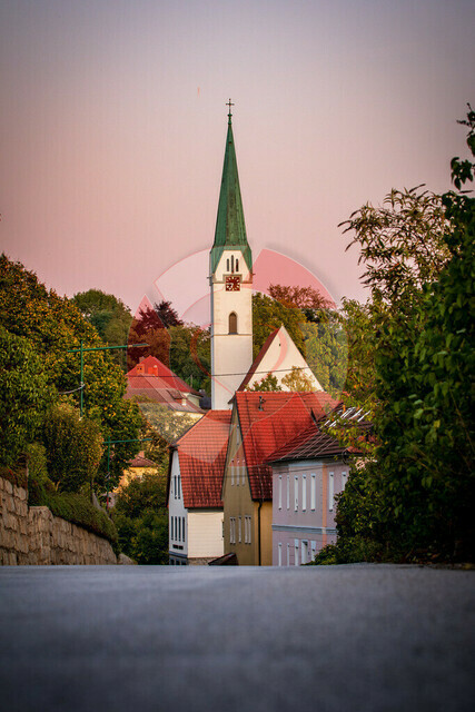 Kirche Mauthausen   Mauthausener Kirche