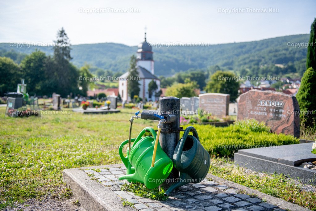 DSC_3177   Lautertal, Friedhof, Reichenbach, CDU Ortsbegehung, ,, Bild: Thomas Neu