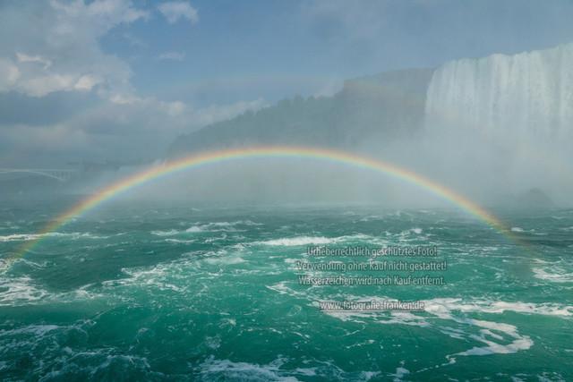Niagara   Die amerikanischen Niagara Fälle