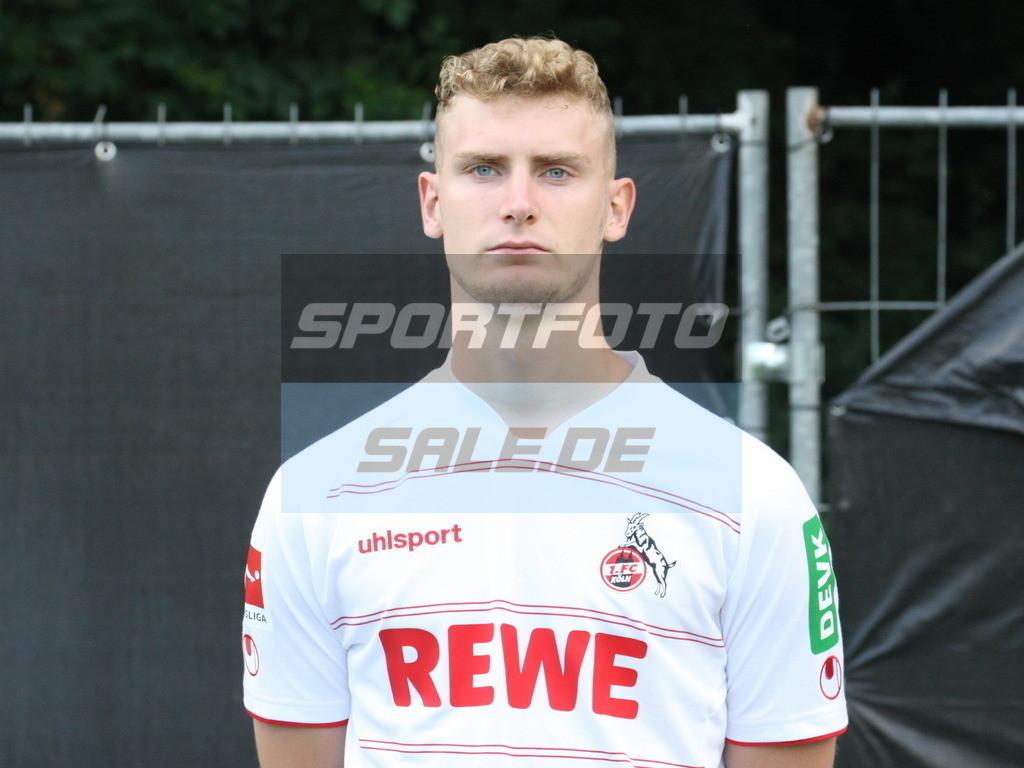 1. FC Köln Fotoshooting | Meiko Sponsel - © Sportfoto-Sale (MK)