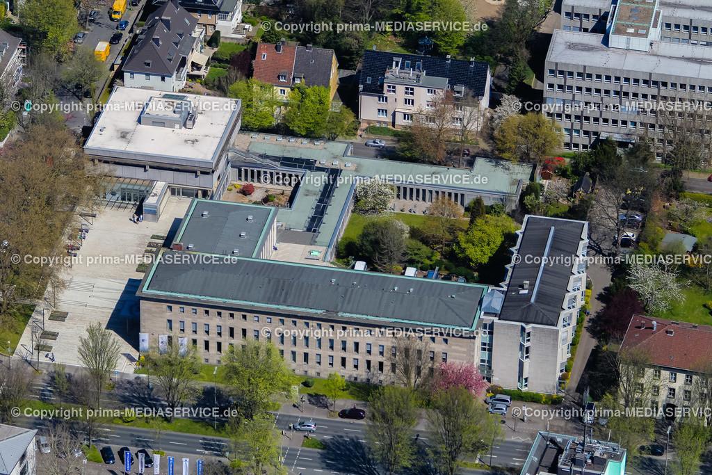 IMGL1229 | Luftbild Industrie- und Handelskammer zu Dortmund (IHK) 21.04.2015 in Dortmund (Nordrhein-Westfalen, Deutschland).  Foto: Michael Printz / PHOTOZEPPELIN.COM