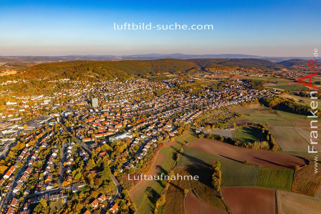 kulmbach-18-2777 | aktuelles Luftbild von  Kulmbach - Luftaufnahme wurde 2018 von https://frankenair.de mittels Flugzeug (keine Drohne) erstellt.
