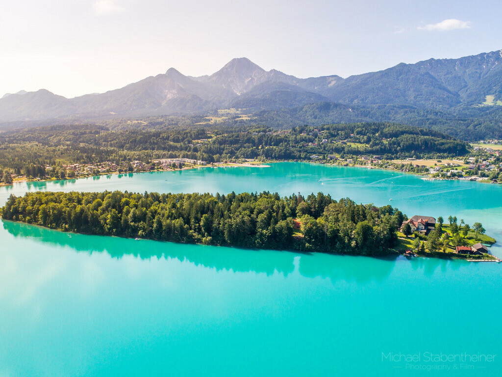 Sommer am Faaker See bei Villach | Sommerliche Farben am Faaker See bei Villach