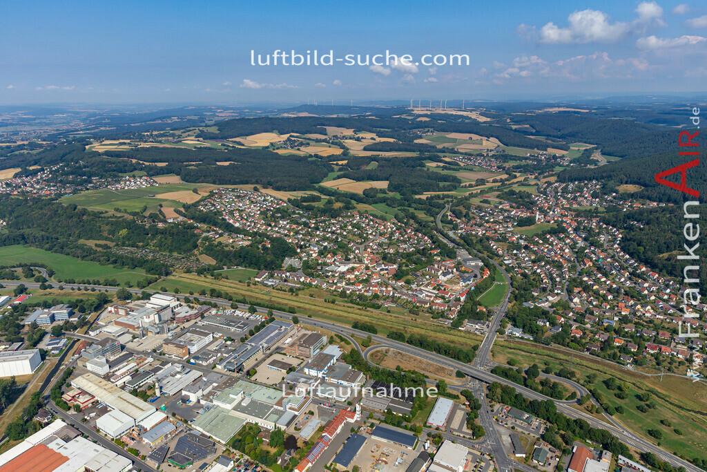 petzmannsberg-kulmbach-19-697   aktuelles Luftbild von Petzmannsberg  Kulmbach - Luftaufnahme wurde 2019 von https://frankenair.de mittels Flugzeug (keine Drohne) erstellt.