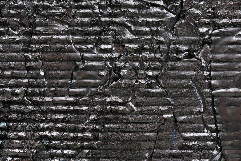 New Aluminium Foil Scrap | neue Aluminium-Folie, Schrott aus der Pharmaindustrie, blank